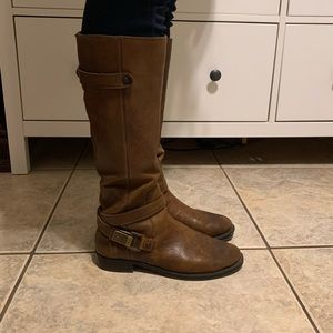 Arturo Chiang Tall Leather Boots
